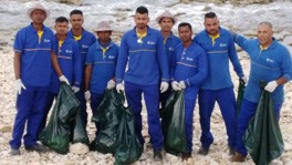 IPT Takes Part in Operation Big Blue's Beach Clean-Up