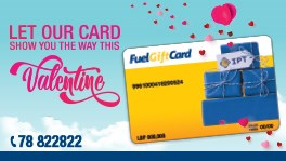 IPT Fuel Gift Card: the Gift of All Times