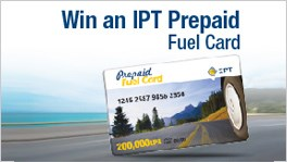 "Win an ""IPT Prepaid Fuel Card"" every 2 days on LBCI"