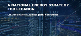 A National Energy Strategy for Lebanon