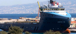 First Gas Exploration Vessel Docks at Beirut Port