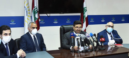 Minister Ghajar Says Preliminary Results Confirm Presence of Gas at Different Depths in Offshore Block 4