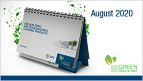 IPT August Calendar 2020: A New Eco-Tip Revealed!
