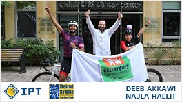 IPT and CCCL: Riding for a cause