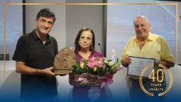 IPT Honors Ringie Kossayfi for 40 Years of Loyalty and Commitment