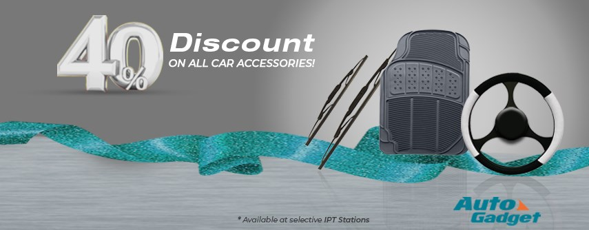 Auto Gadget Offers You a 40% Discount on ALL Car Accessories!